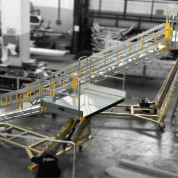 Hydraulic Maintenance Platform