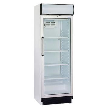 Vertical freezer cabinet for drinks