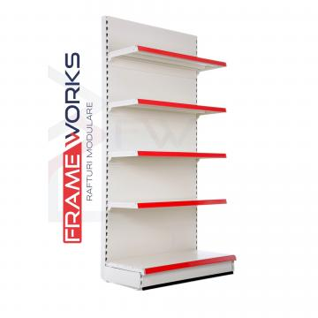 Modular retail shop shelving