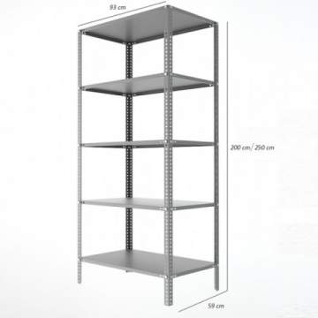 Archive Shelving & Storage 60x93 cm